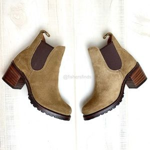 Frye Sabrina Chelsea Boot in Chestnut Size 6.5
